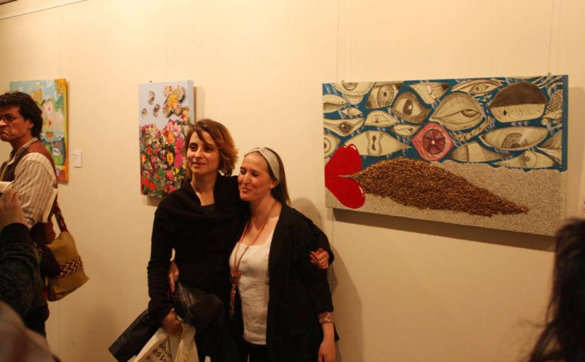 Ple a la inauguració de la 12 edició de Parelles Artístiques a Vic