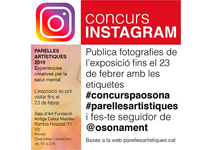 Concurs de fotos a Instagram sobre l'exposició de Parelles d'Osona #ConcursPAOsona