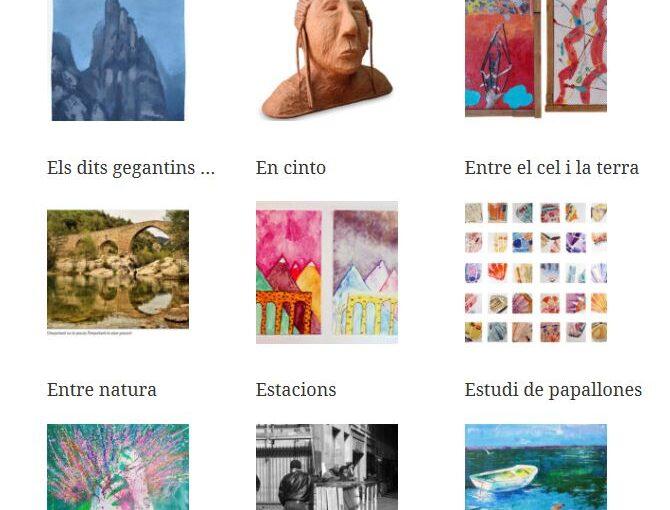 Inaugurem l'exposició col·lectiva amb les 99 obres de la 13 edició al Centre Cívic Pere Quart de Barcelona