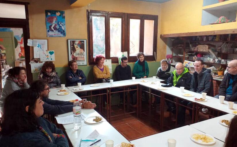 Trobada de parelles artístiques d'Osona per intercanviar experiències