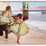 Bailarinas en Cala Morisca