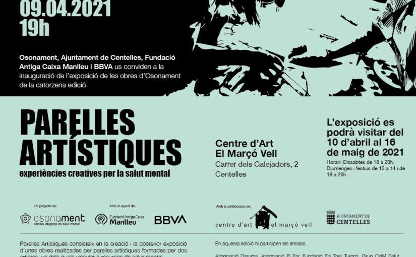 Divendres 9 d'abril: Inauguració de l'exposició de les obres d'Osona a El Marçó Vell de Centelles