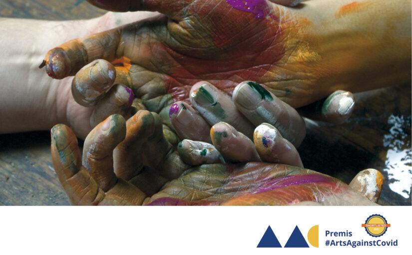 Parelles Artístiques, finalista als Premis d'art i salut #ArtsAgainstCovid